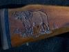 cape-buffalo-carving-on-sako-gunstock-image