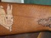 rabbit-leaves-ruger-22-gunstock-image