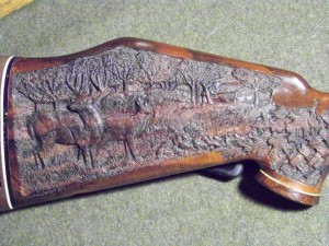 Gunstock Carving by Lance Larson