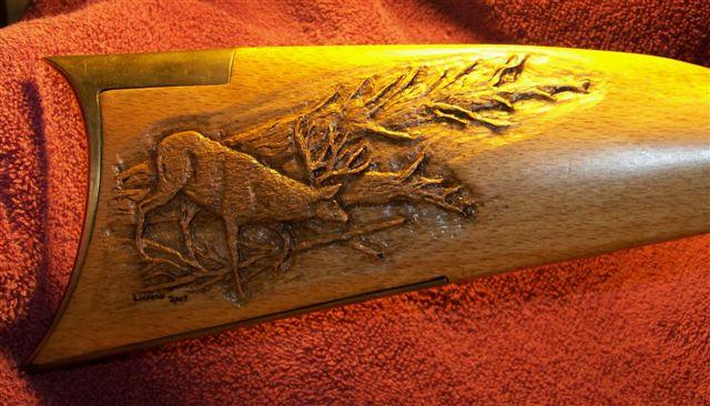 Gunstocks custom gun stock carving engraving