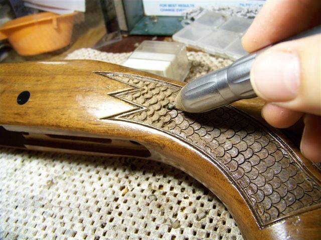 Engraving Guns uk Gun Stock Engraving And