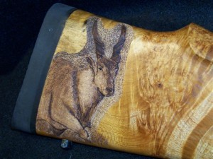 Eland Carving image