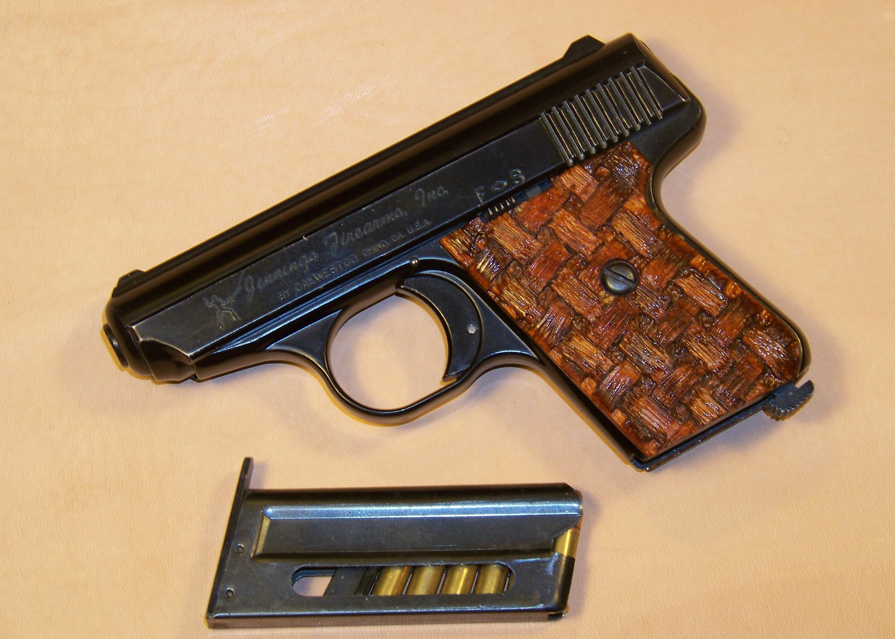 Custom Carved Pocket Pistol | Custom Gun Stock Carving | Gun