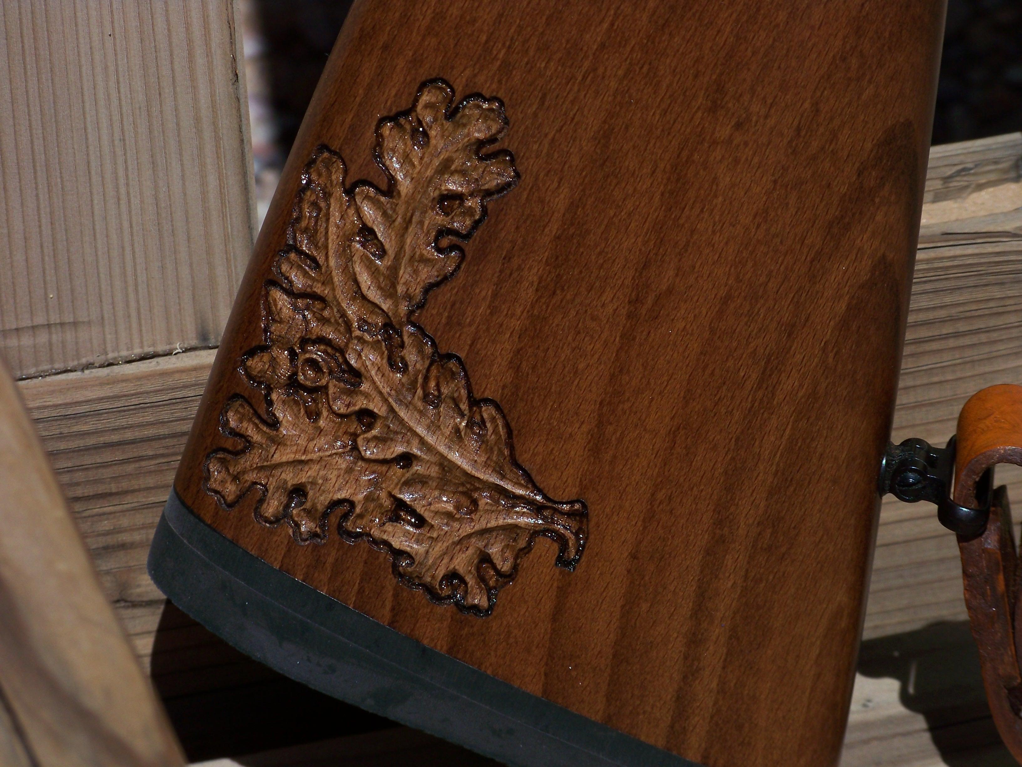 Custom Carving A Classic 22 Target Rifle Custom Gun Stock Carving Gun Engraving