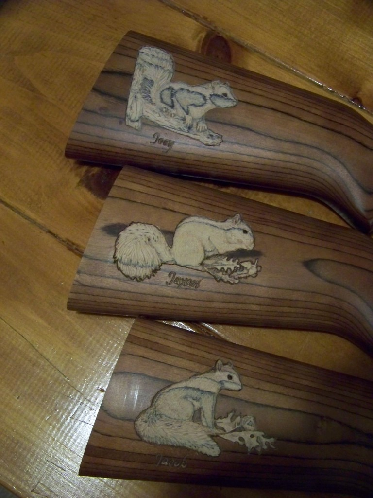 Squirrel carvings 001