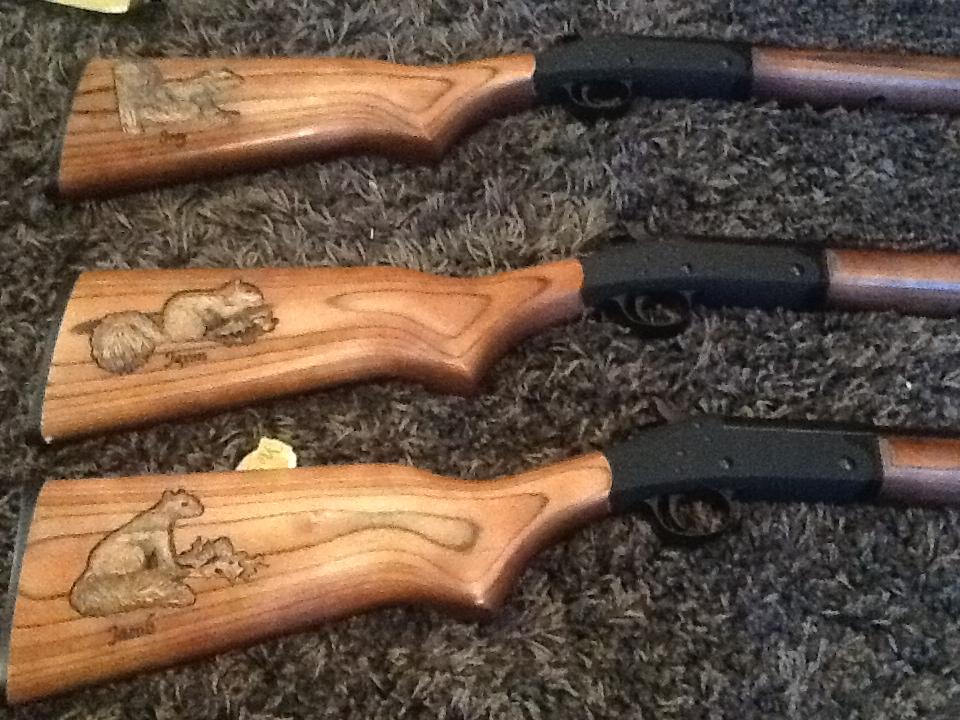 custom carved shotgun trio update custom gun stock carving gun